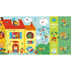 Optic Puzzle - La maison - Puzzle géant