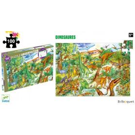 Dinosaures - Puzzle d'observation 100 pièces