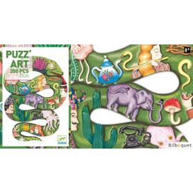 Puzz'Art Boa - Puzzle 350 pièces