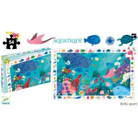 Aquatique - Puzzle d'observation 54 pièces