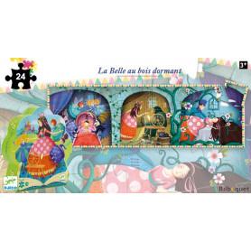 La Belle au bois dormant - Puzzle Silhouette 36 pièces